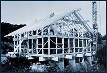 Das Wohnhaus Karl Wieland in Holzskelettkonstruktion